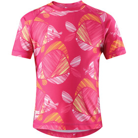 Reima Ionian Swim Shirt Girls, candy pink